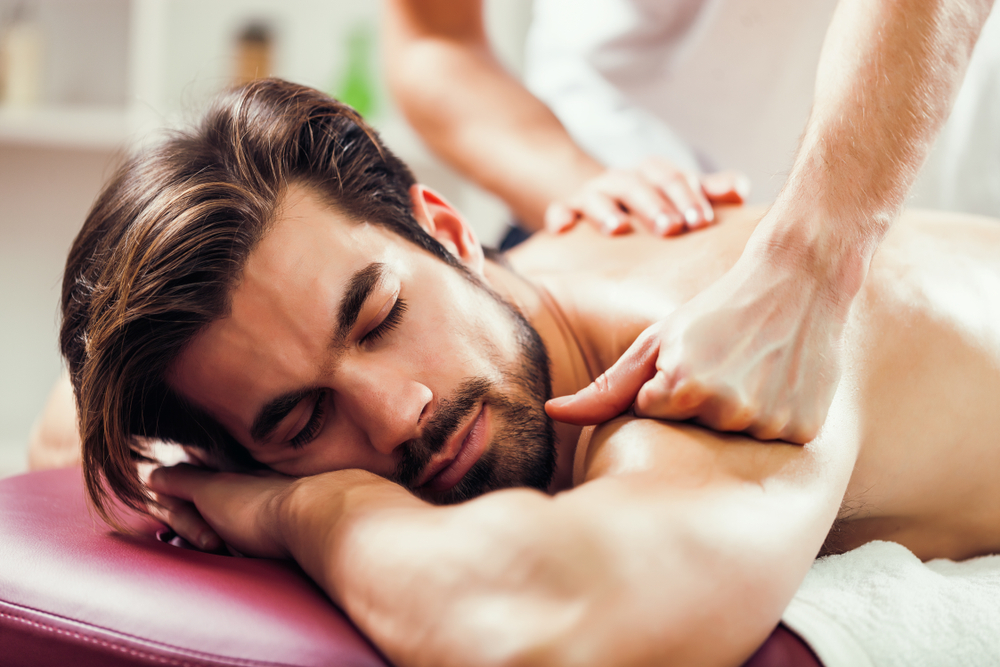 Massage relieves stress